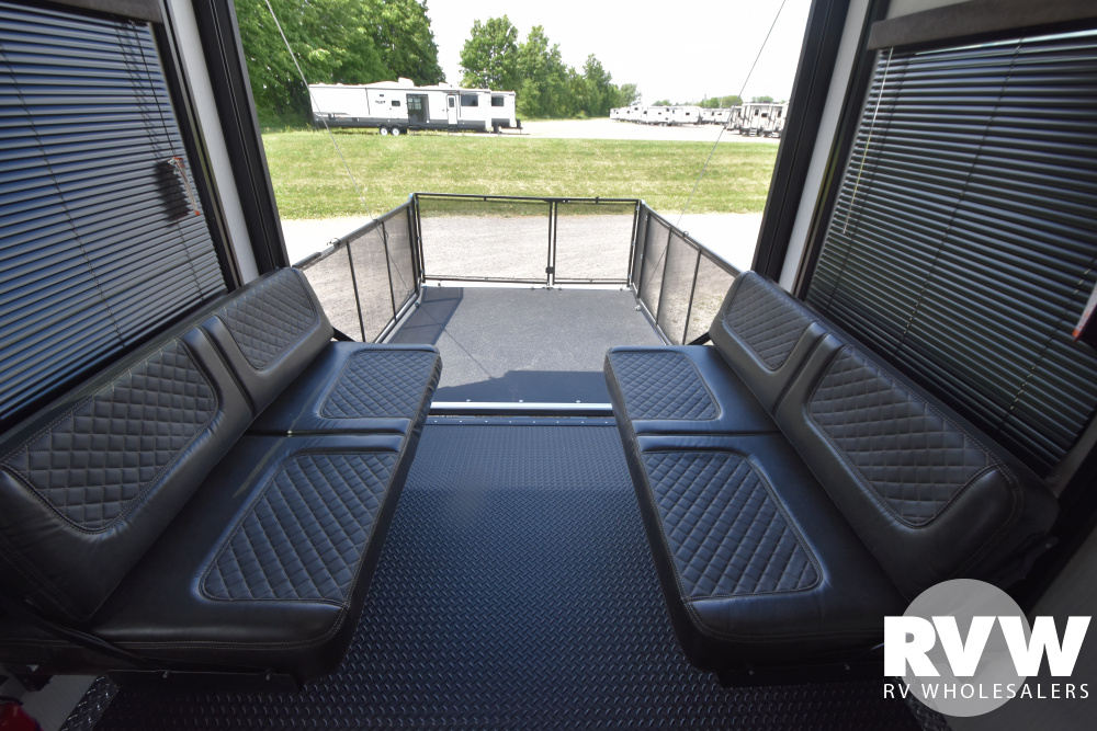 Click here to see the New 2021 Torque 373 Toy Hauler Fifth Wheel by Heartland at RVWholesalers.com