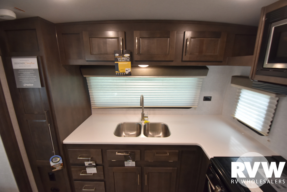 Click here to see the New 2021 Rockwood Mini Lite 2506S Travel Trailer by Forest River at RVWholesalers.com
