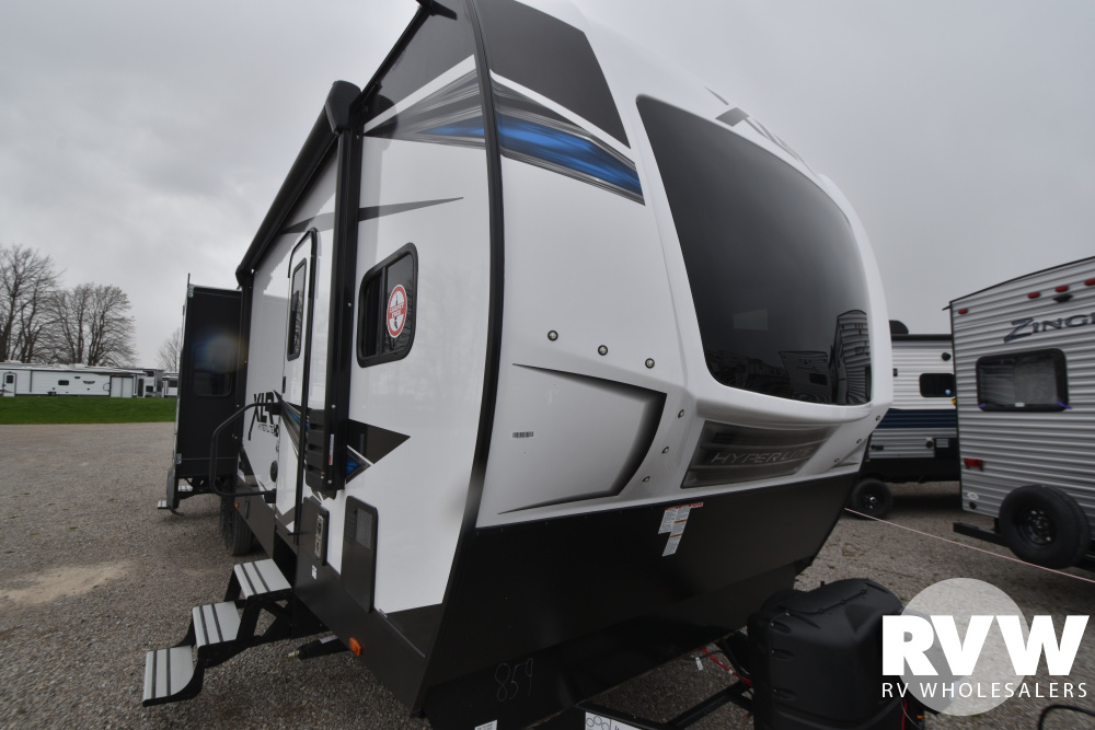 Click here to see the New 2021 XLR Hyper Lite 3310 Toy Hauler Travel Trailer by Forest River at RVWholesalers.com