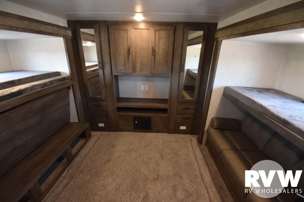 Click here to see the New 2021 Wildwood 31KQBTS Travel Trailer by Forest River at RVWholesalers.com