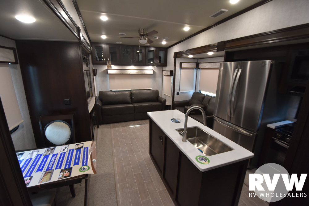 Click here to see the New 2021 Columbus Compass Series 378MBC Fifth Wheel by Palomino at RVWholesalers.com