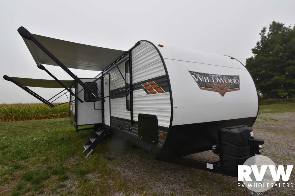 Click here to see the New 2021 Wildwood 27RE Travel Trailer by Forest River at RVWholesalers.com