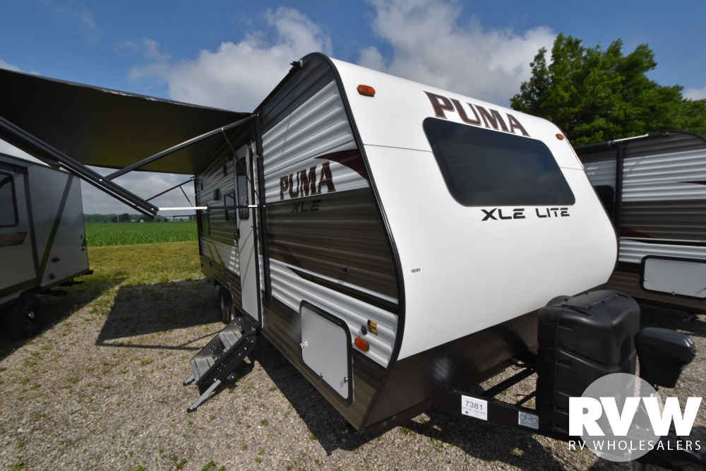Click here to see the New 2021 Puma XLE 20RLC Travel Trailer by Palomino at RVWholesalers.com