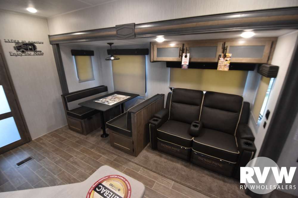 Click here to see the New 2021 Puma 382THS Toy Hauler Fifth Wheel by Palomino at RVWholesalers.com