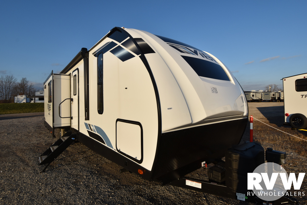 Click here to see the New 2021 Vibe 34BH Travel Trailer by Forest River at RVWholesalers.com