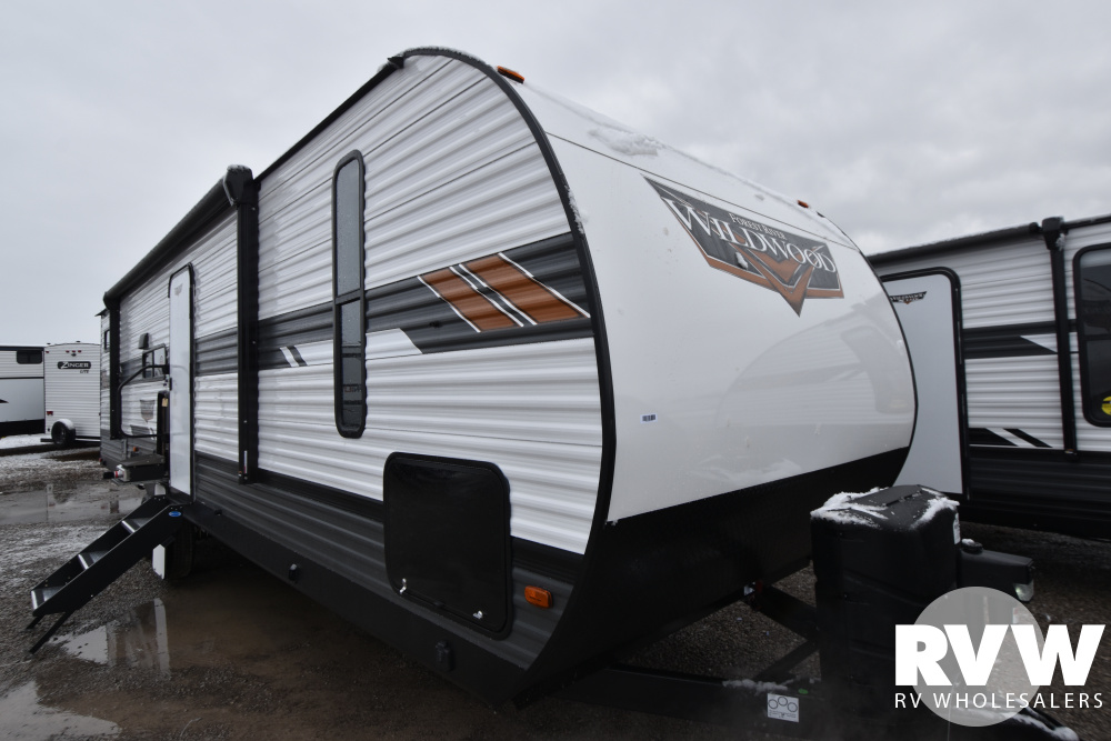 Click here to see the New 2021 Wildwood 29VBUD Travel Trailer by Forest River at RVWholesalers.com