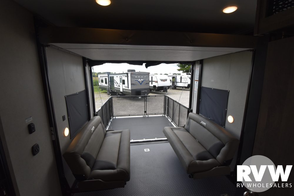 Click here to see the New 2021 XLR Boost 29QBX Toy Hauler Travel Trailer by Forest River at RVWholesalers.com