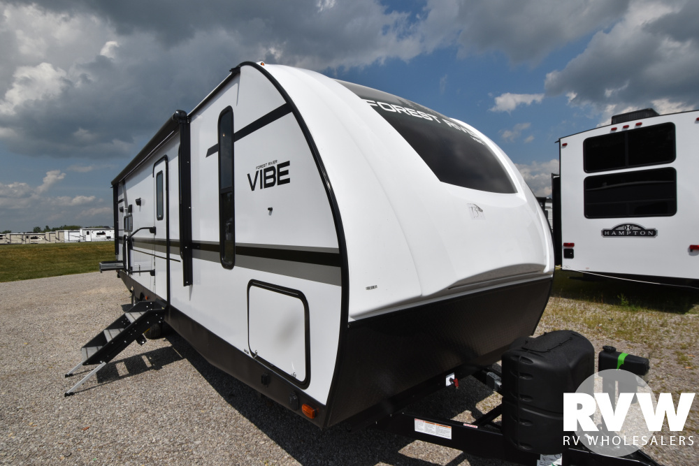 Click here to see the New 2021 Vibe 28RB Travel Trailer by Forest River at RVWholesalers.com