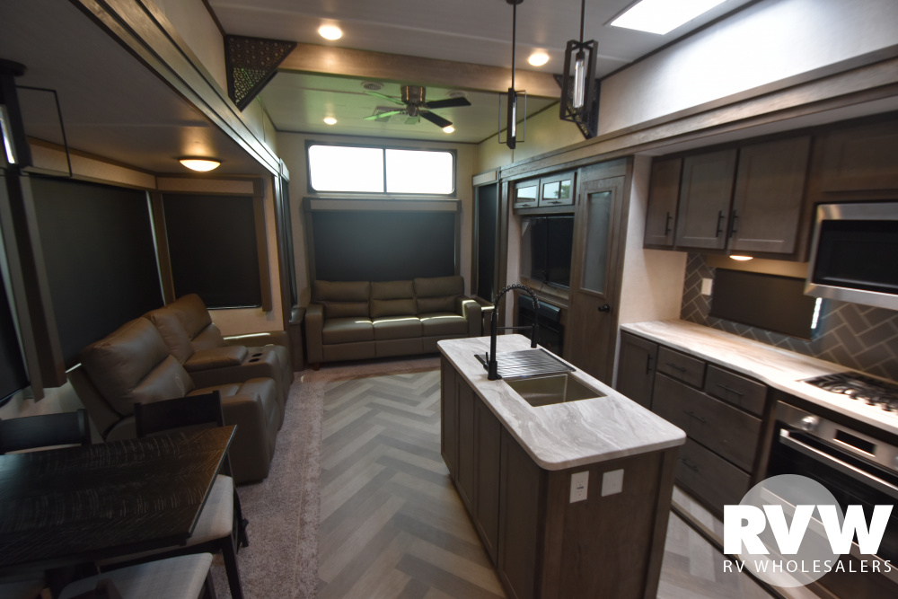 Click here to see the New 2021 Wildwood Grand Lodge 42DL Park Trailer by Forest River at RVWholesalers.com