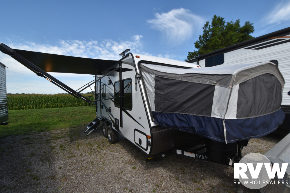 Click here to see the New 2021 Solaire Expandables 163X Hybrid Camper by Palomino at RVWholesalers.com