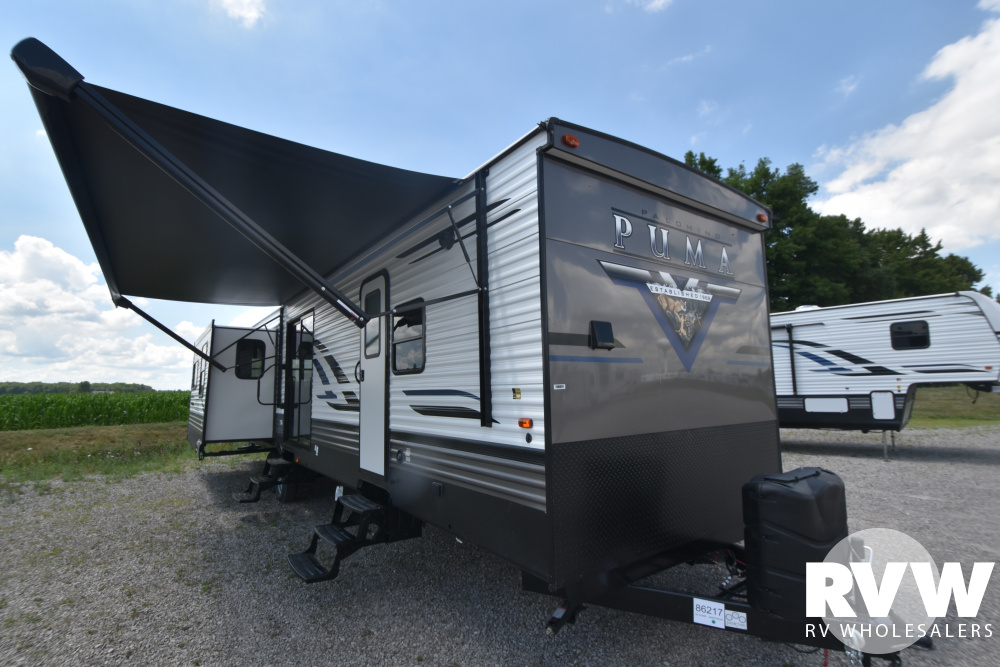 Click here to see the New 2021 Puma Park 38RLB Park Trailer by Palomino at RVWholesalers.com