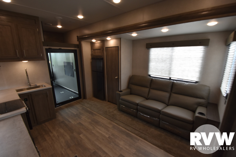 Click here to see the New 2021 XLR Boost 36TSX16 Toy Hauler Fifth Wheel by Forest River at RVWholesalers.com
