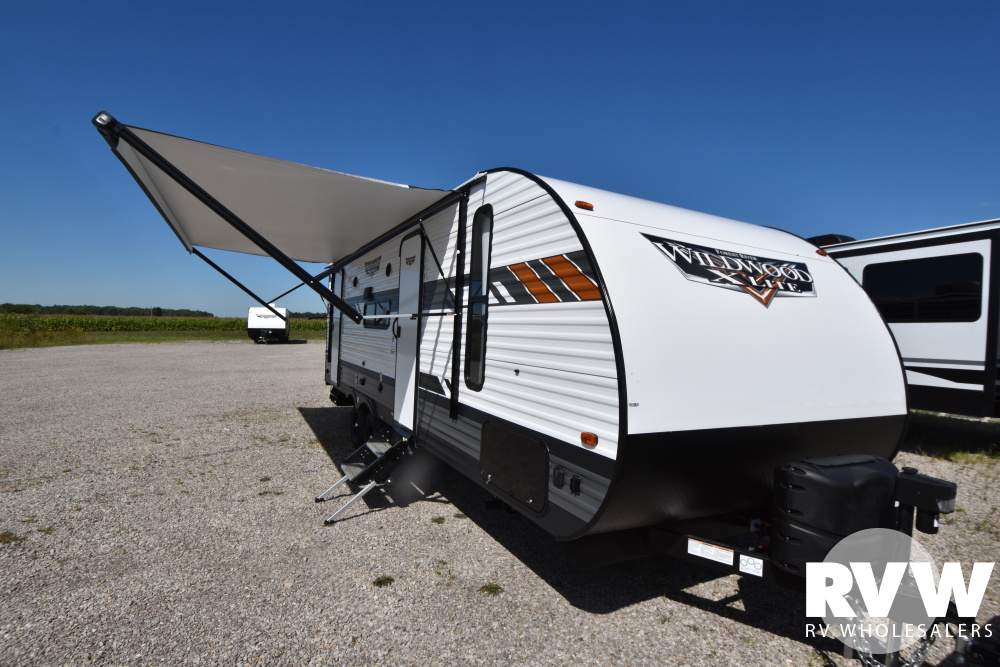 Click here to see the New 2021 Wildwood XLite 240BHXL Travel Trailer by Forest River at RVWholesalers.com