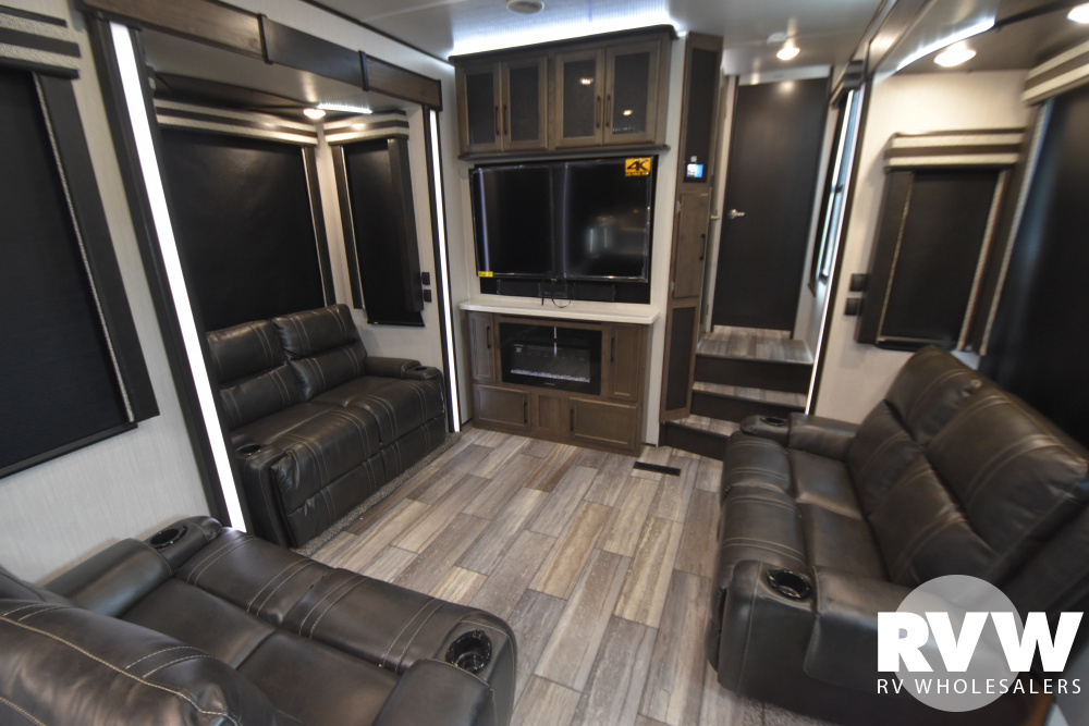 Click here to see the New 2021 Cyclone 4006 Toy Hauler Fifth Wheel by Heartland at RVWholesalers.com