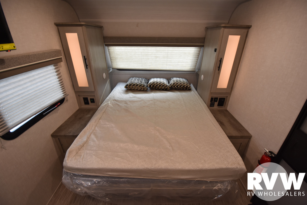 Click here to see the New 2021 Ibex 19MBH Travel Trailer by Forest River at RVWholesalers.com