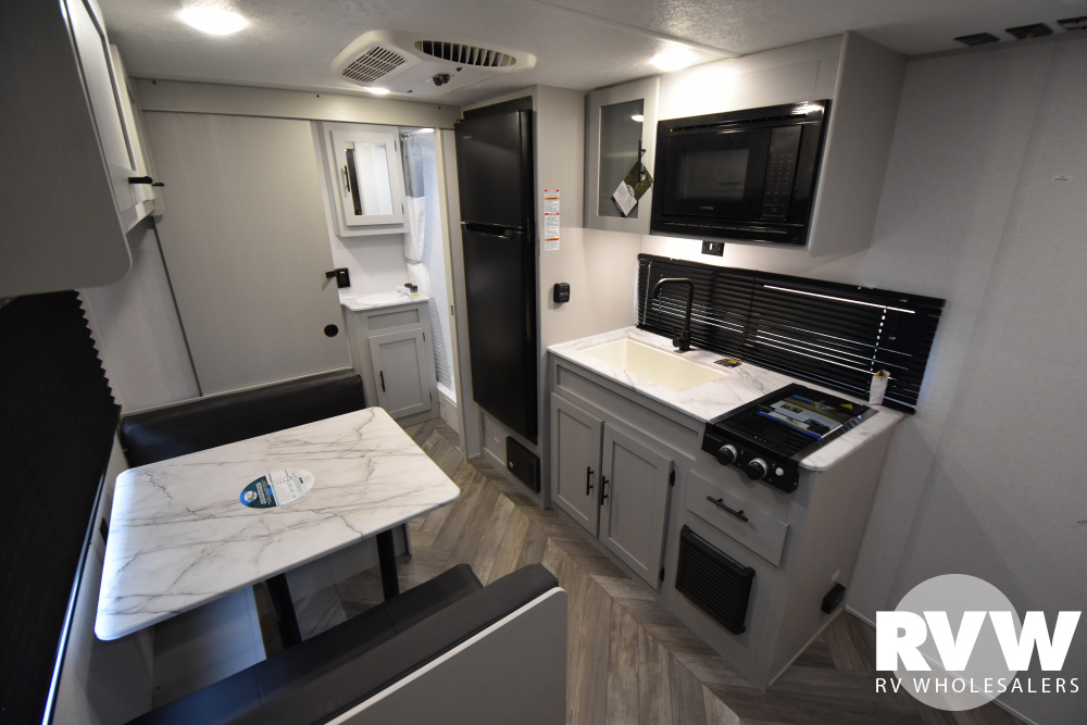 Click here to see the New 2021 Wildwood FSX 167RBK Travel Trailer by Forest River at RVWholesalers.com