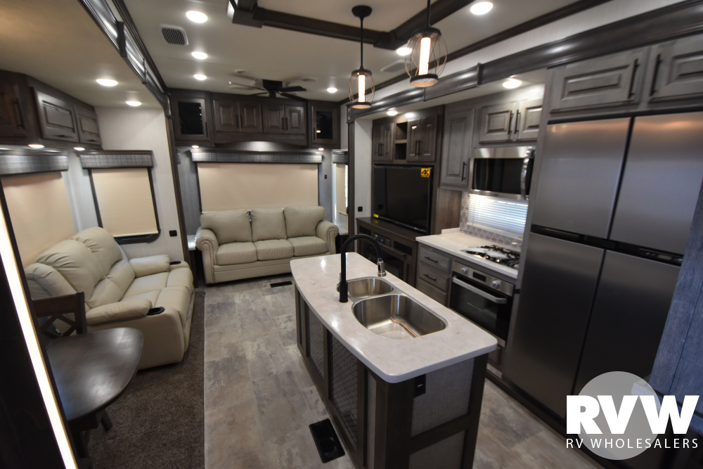 Click here to see the New 2021 Bighorn 3375SS Fifth Wheel by Heartland at RVWholesalers.com