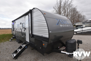 2021 Forest River XLR Micro Boost 27LRLE Toy Hauler Travel Trailer: image 1