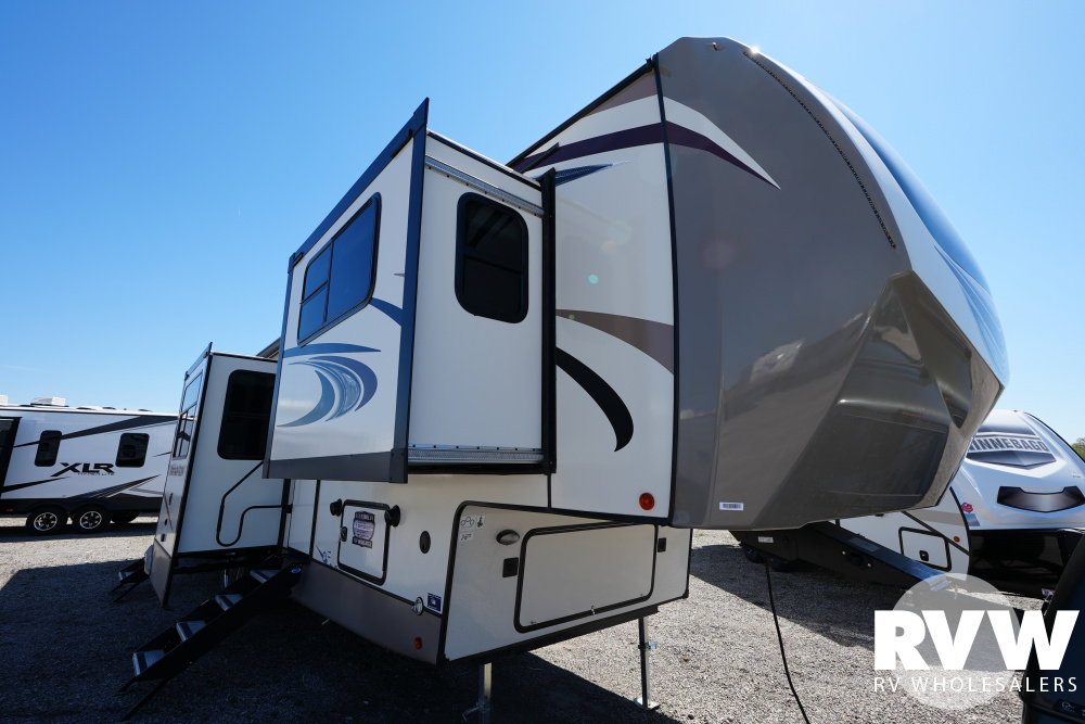 Click here to see the New 2021 Heritage Glen 378FL Fifth Wheel by Forest River at RVWholesalers.com