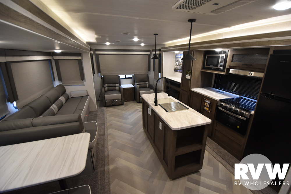 Click here to see the New 2021 Wildwood 34MBS Travel Trailer by Forest River at RVWholesalers.com