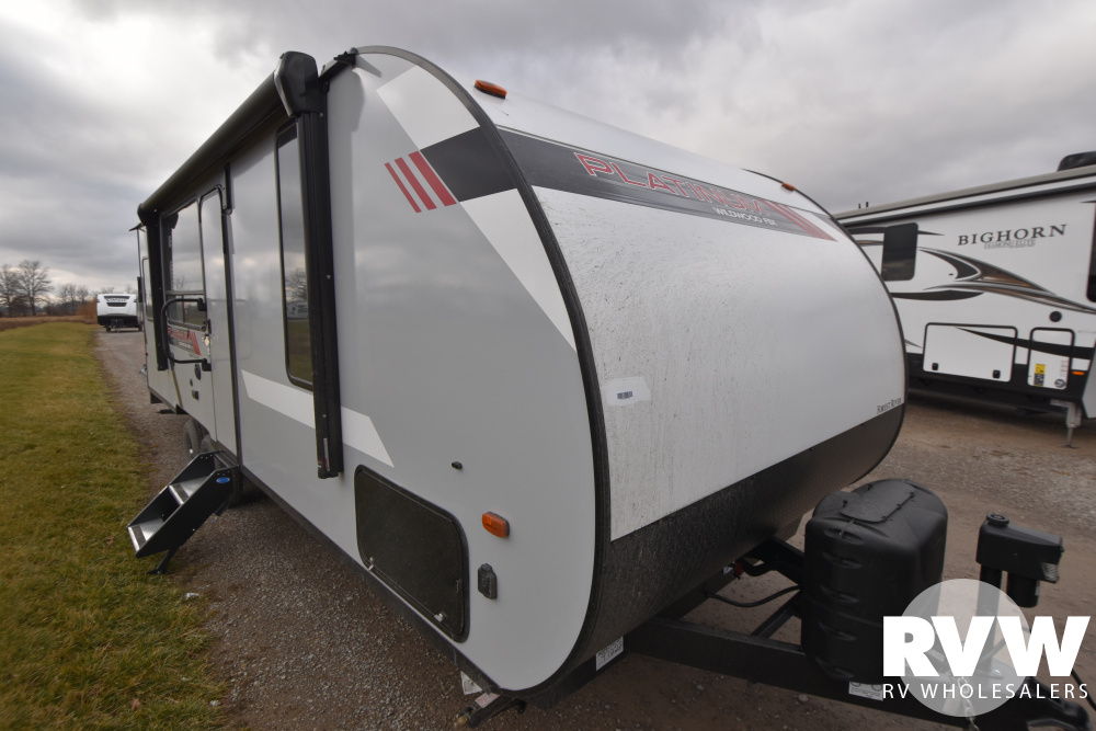 Click here to see the New 2021 Wildwood FSX 260RT Toy Hauler Travel Trailer by Forest River at RVWholesalers.com