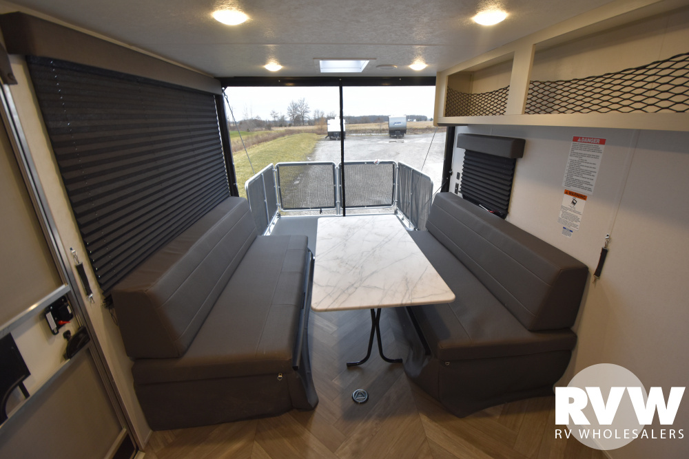 Click here to see the New 2021 Wildwood FSX 280RT Toy Hauler Travel Trailer by Forest River at RVWholesalers.com