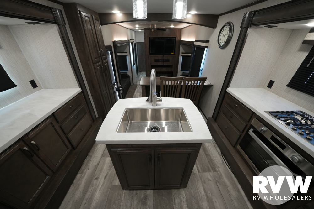Click here to see the New 2021 Sandpiper 38FKOK Fifth Wheel by Forest River at RVWholesalers.com