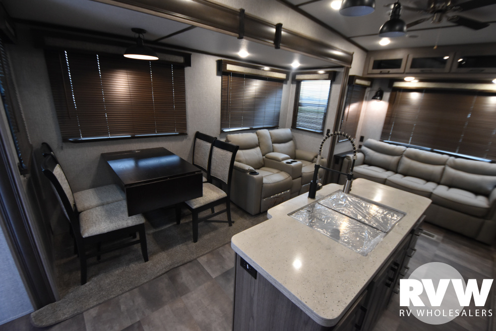 Click here to see the New 2020 Cameo 3961MB Fifth Wheel by Crossroads at RVWholesalers.com