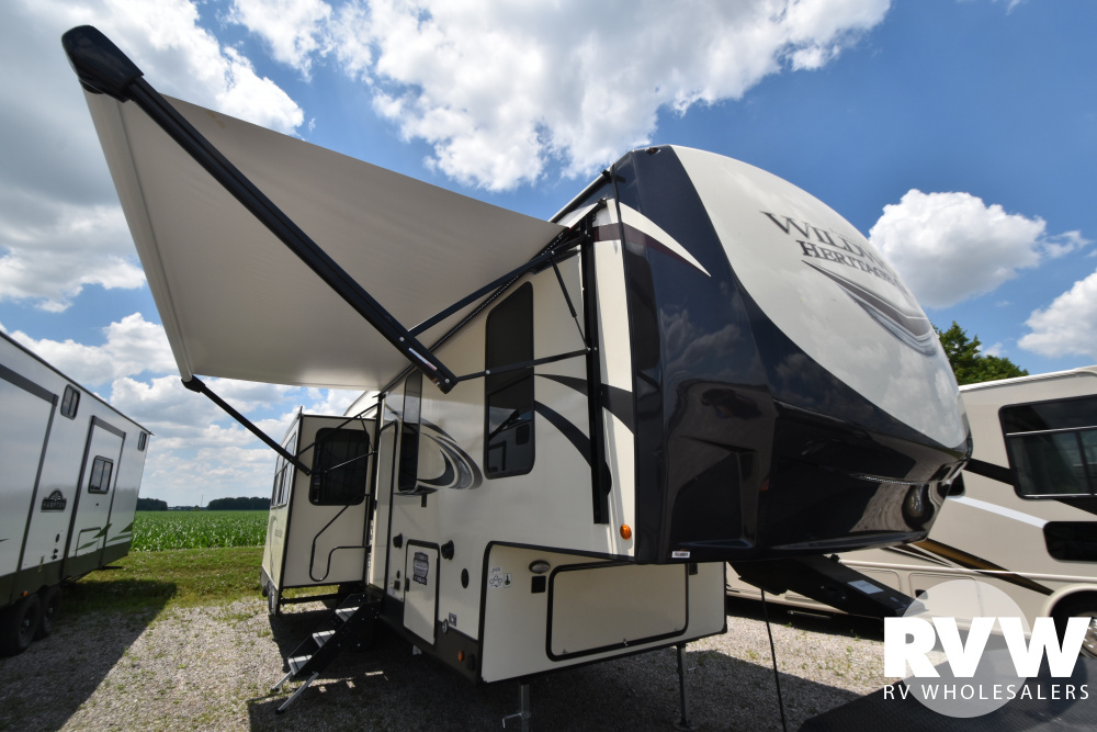 Click here to see the New 2021 Heritage Glen 290RL Fifth Wheel by Forest River at RVWholesalers.com