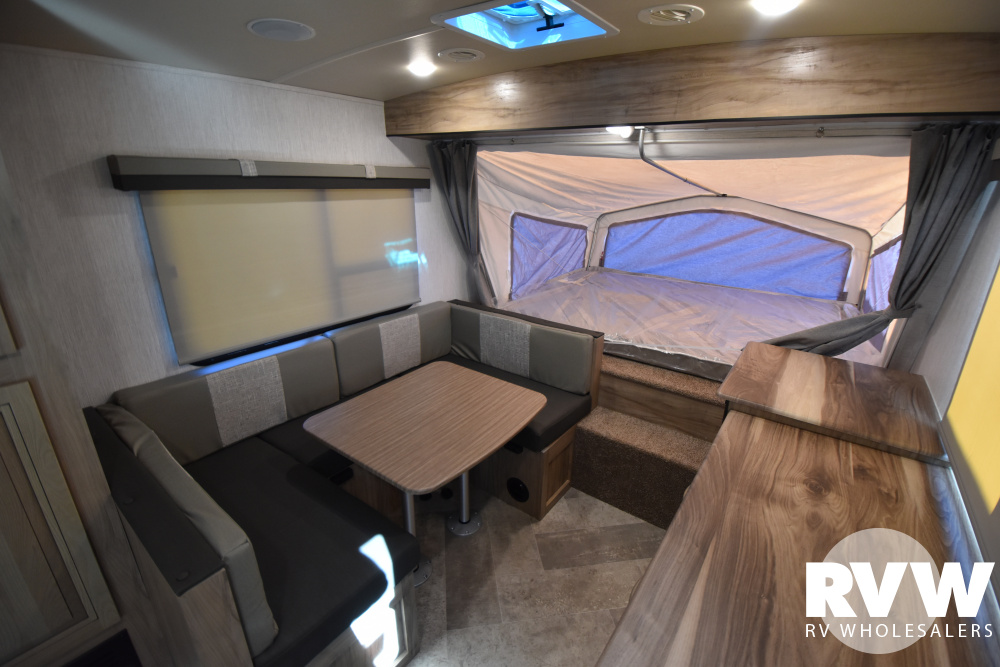 Click here to see the New 2021 Solaire Expandables 185X Hybrid Camper by Palomino at RVWholesalers.com