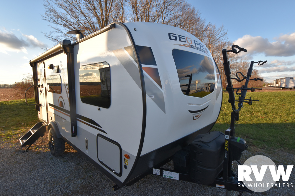 Click here to see the New 2021 Rockwood Geo Pro G19FBS Travel Trailer by Forest River at RVWholesalers.com