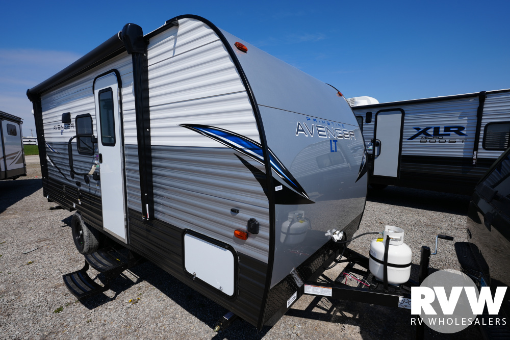Click here to see the New 2021 Avenger LT 17BHS Travel Trailer by Prime Time at RVWholesalers.com
