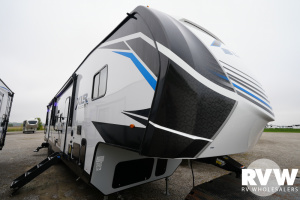 2022 Forest River XLR Boost 36TSX16 Toy Hauler Fifth Wheel: image 1