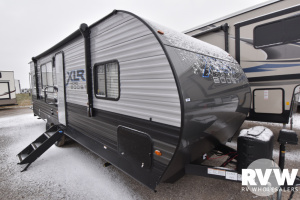 2021 Forest River XLR Micro Boost 25LRLE Toy Hauler Travel Trailer: image 1