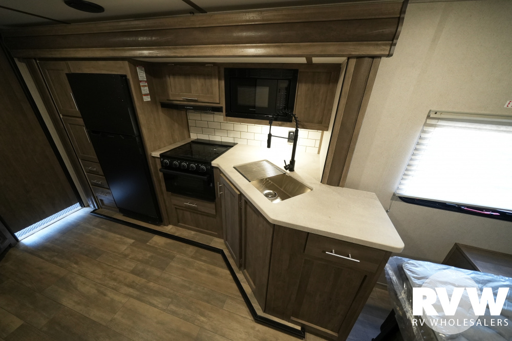 Click here to see the New 2022 XLR Micro Boost 29LRLE Toy Hauler Travel Trailer by Forest River at RVWholesalers.com