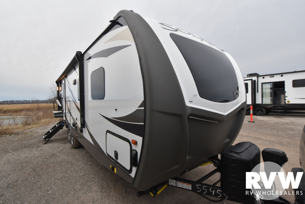 Click here to see the New 2021 Solaire Ultra Lite 268BHSK Travel Trailer by Palomino at RVWholesalers.com