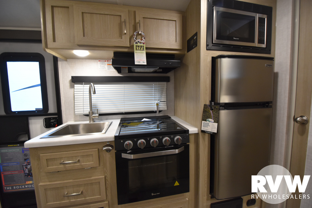 Click here to see the New 2021 Rockwood Geo Pro G19BH Travel Trailer by Forest River at RVWholesalers.com