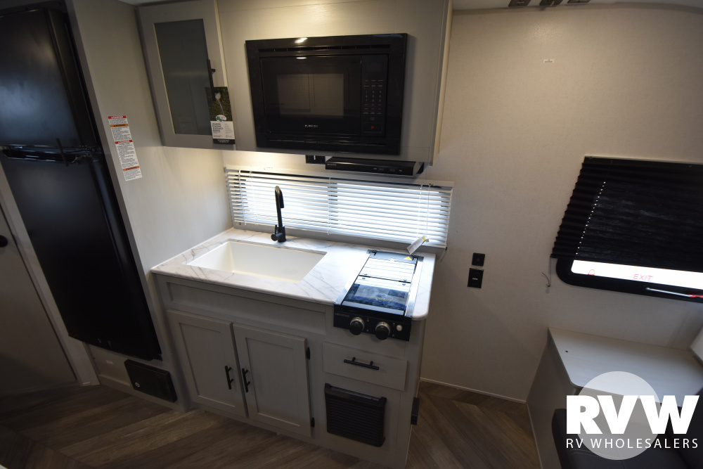 Click here to see the New 2021 Wildwood FSX 179DBK Travel Trailer by Forest River at RVWholesalers.com