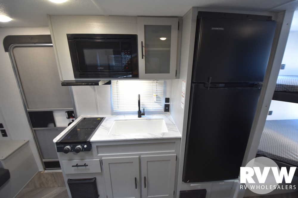 Click here to see the New 2021 Wildwood FSX 178BHSK Travel Trailer by Forest River at RVWholesalers.com