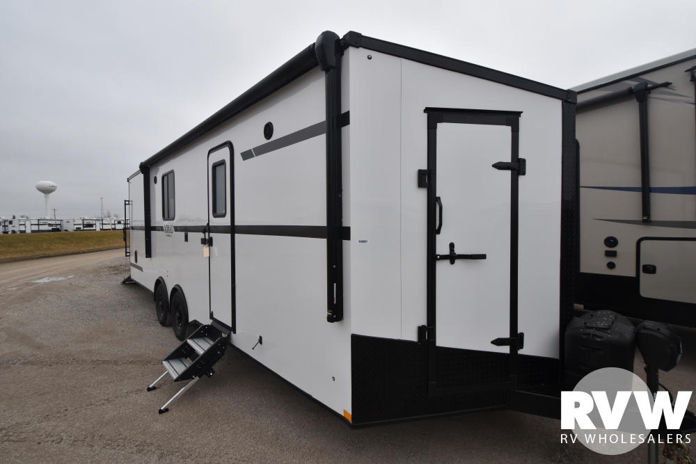 Click here to see the New 2021 Nomad 26ANFK Toy Hauler Travel Trailer by Stealth at RVWholesalers.com
