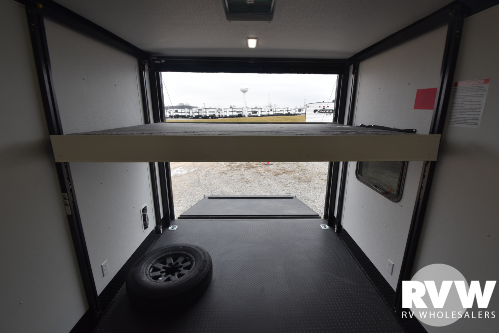Click here to see the Used 2022 Nomad 26NFB Toy Hauler Travel Trailer by Stealth at RVWholesalers.com