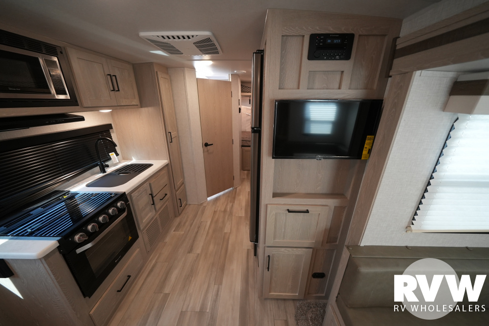 Click here to see the New 2022 Rockwood Roo 233S Hybrid Camper by Forest River at RVWholesalers.com