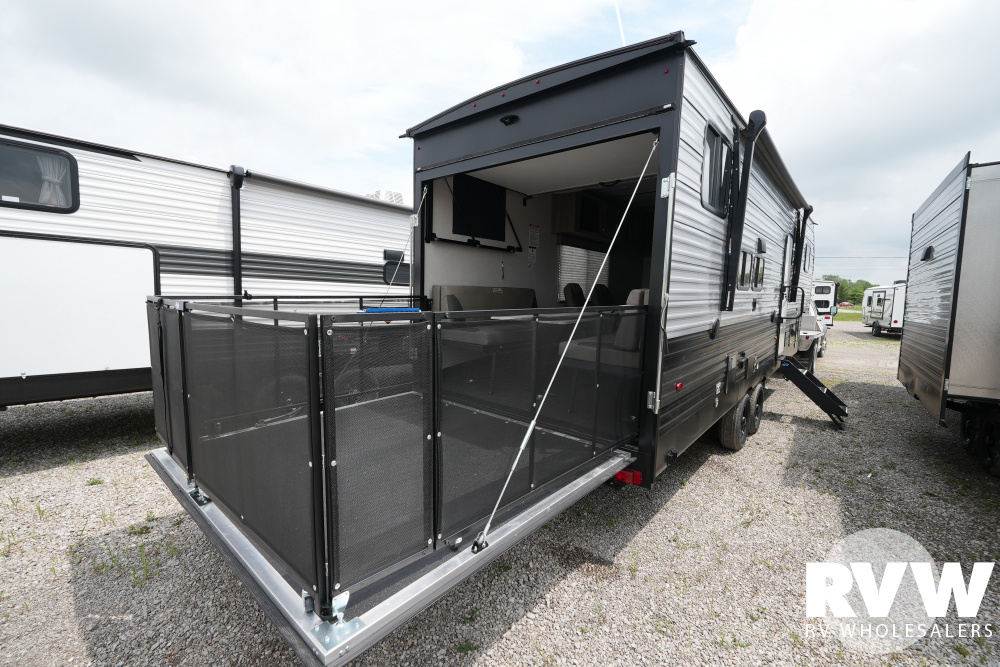 Click here to see the New 2021 XLR Micro Boost FW 301LRLE Toy Hauler Fifth Wheel by Forest River at RVWholesalers.com