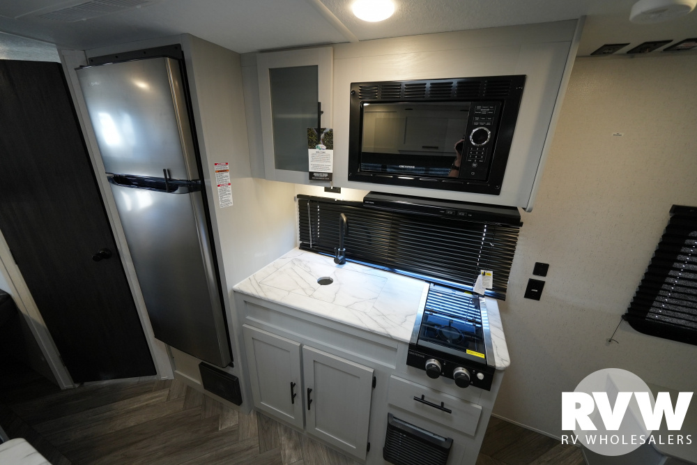 Click here to see the New 2022 Wildwood FSX 179DBK Travel Trailer by Forest River at RVWholesalers.com
