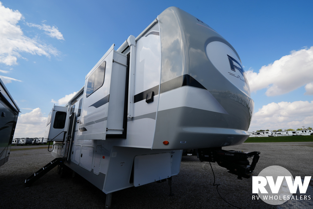 Click here to see the New 2022 Columbus River Ranch 390RL Fifth Wheel by Palomino at RVWholesalers.com