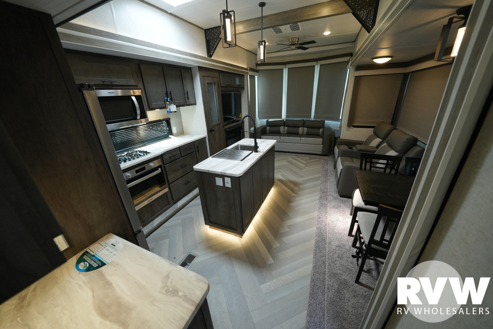 Click here to see the New 2021 Wildwood Grand Lodge 42FLDL Park Trailer by Forest River at RVWholesalers.com