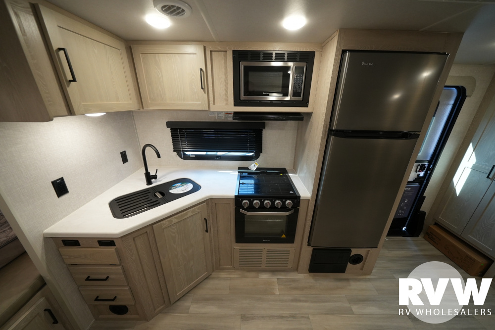 Click here to see the New 2022 Rockwood Roo 23FK Hybrid Camper by Forest River at RVWholesalers.com