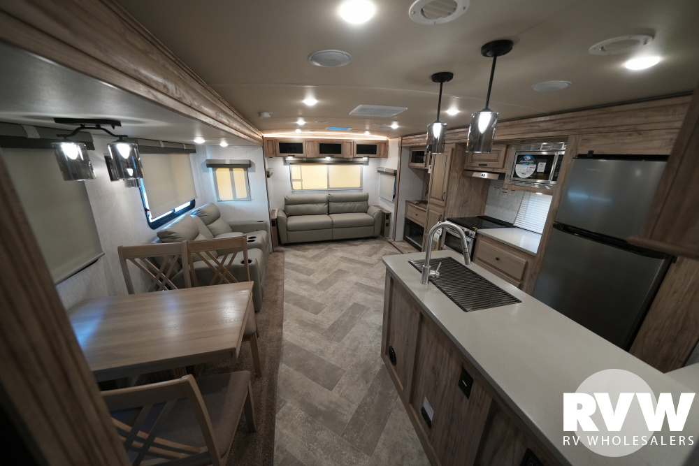Click here to see the New 2021 Solaire Ultra Lite 318RLTS Travel Trailer by Palomino at RVWholesalers.com