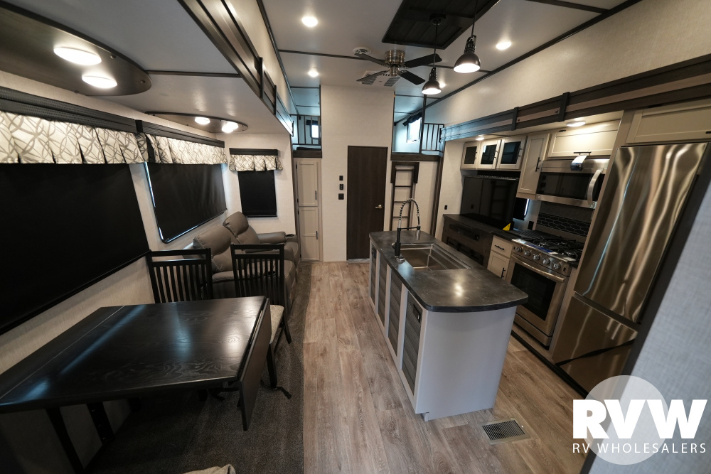Click here to see the New 2021 Hampton 364MBL Park Trailer by Crossroads at RVWholesalers.com