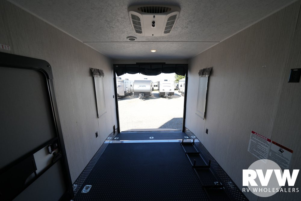 Click here to see the New 2022 Puma 383DSS Toy Hauler Fifth Wheel by Palomino at RVWholesalers.com